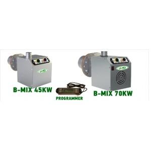 Καυστήρας βιομάζας - πέλλετ B - MIX 45 kw